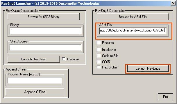 Bin Decompiler